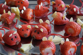 red food strawberry mice